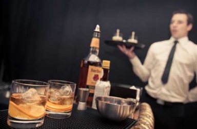 cocktail catering bediening